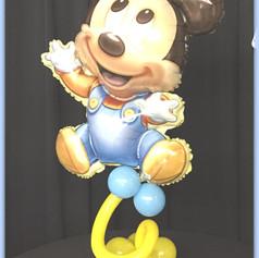 Mickey or Mini Mouse Balloon Centerpiece