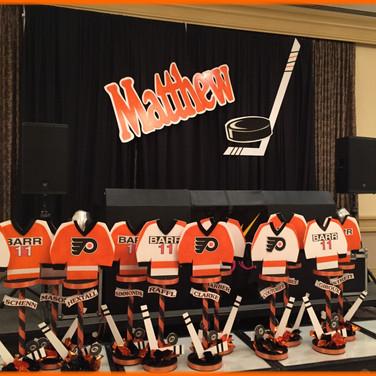 Hockey Theme.