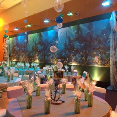Under The Sea Theme.