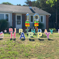 Yard Art signs for rent