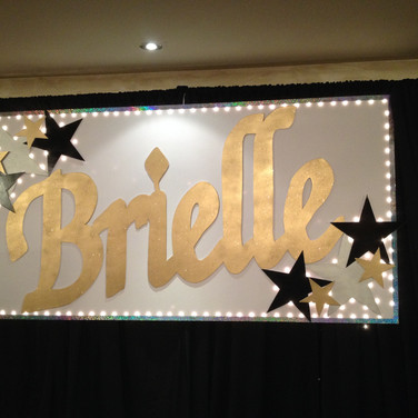 Giant Lighted Sign
