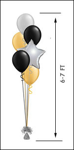 511M Balloon Centerpiece $15.50