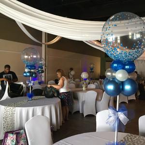 Confetti Bubble Centerpiece