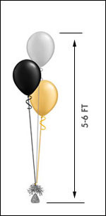 311 Balloon Centerpiece $8.95