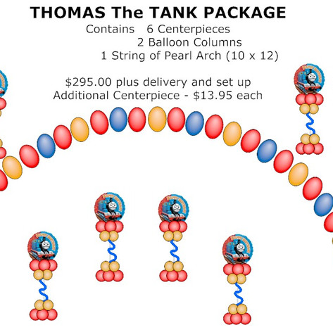 Thomas The Tank Package.