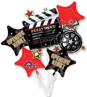 Movie Balloon Centerpiece