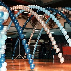 Dance Floor Balloon Arches