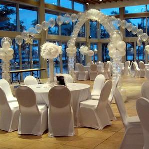 Wedding Balloon Decor.