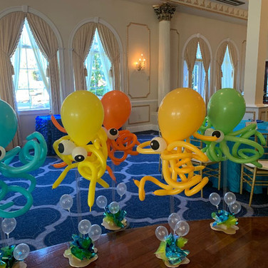 Octopus Centerpieces