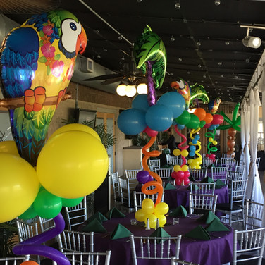 Tropical Theme Party.