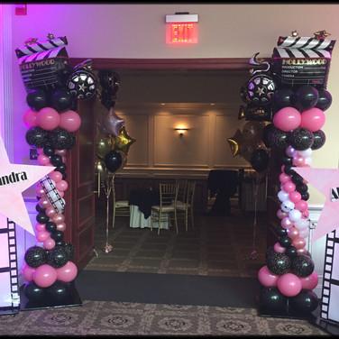 Movie Balloon Entrance.