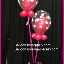 Any photo or logo of your choice and any balloon bouquet topper.