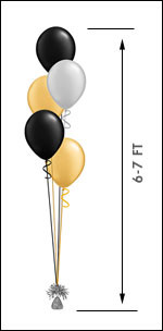 511 Balloon Centerpiece $13.95