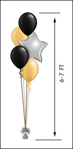 411M Balloon Centerpiece $13.50