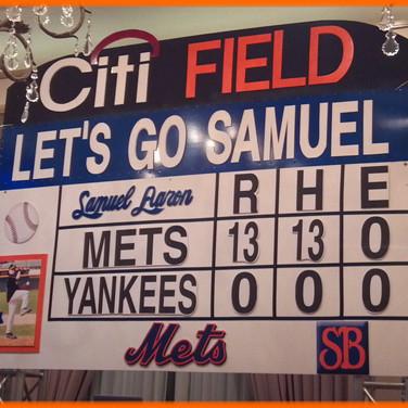 Mets Scoreboard