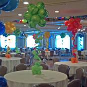 Topiary Balloon Centerpiece.
