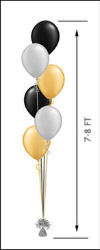611 Balloon Centerpiece $16.75