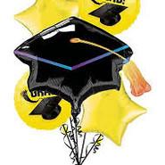 Yellow Graduation Bouquet