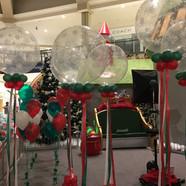 Giant Snow flake Balloons