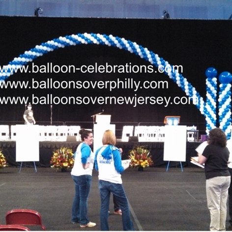 Cluster Balloon Arch for Graduation
