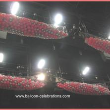Balloon Drop for a Concert