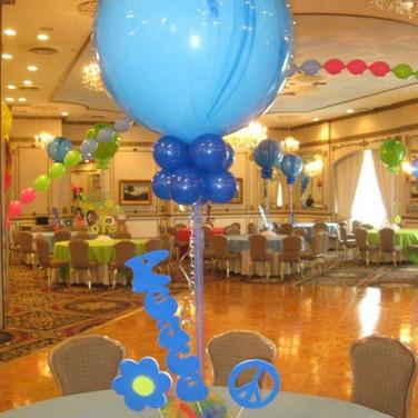 Sixties Balloon Centerpiece