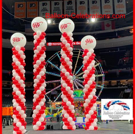 Tall Balloon Columns