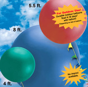 Giant Cloud buster balloons