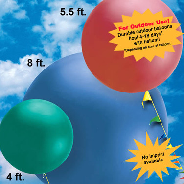 Cluster balloons