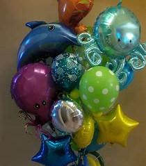 Under The Sea Ballon Bouquet