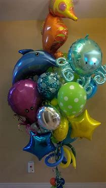 Under The Sea Ballon Bouquet