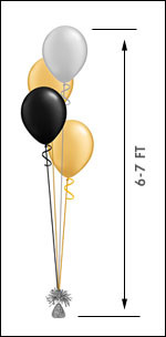 411 Balloon Centerpiece $10.50