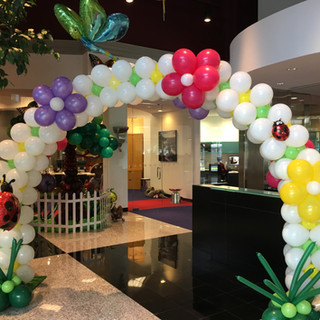 Cluster Balloon Arches