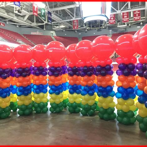 Balloon Columns.