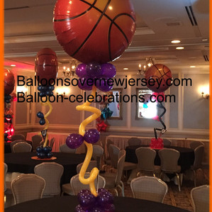 Basketball Themed Centerpiece