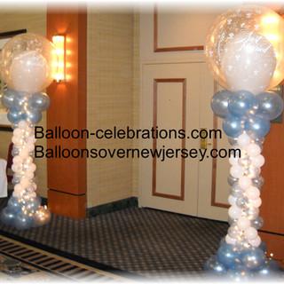 Wedding Balloon Columns.