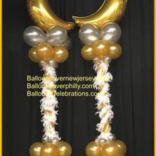 Lamp Post Style Balloon Columns