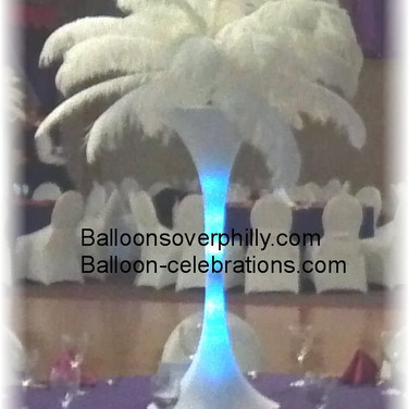 Feather Centerpiece