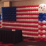 Flag Balloon Wall