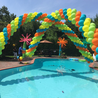 Cluster Balloon Arches.