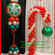 Balloon Candy cane.