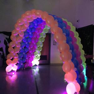 Neon Balloon Tunnel