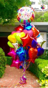 Crazy Zany Chaos Balloon Bouquet