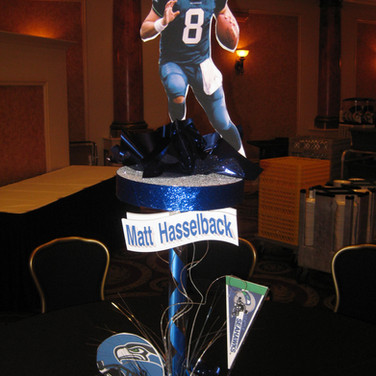 Football Centerpieces.