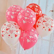 Valentines Day Imprinted Balloons