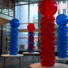 Balloon towers