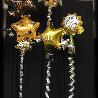 New Years Centerpieces