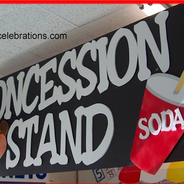 Food Station Sign