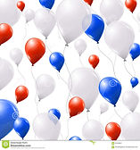 blue-white-red-balloons-white-background