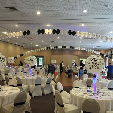 Soccer Theme Party at Temple Emanuel.